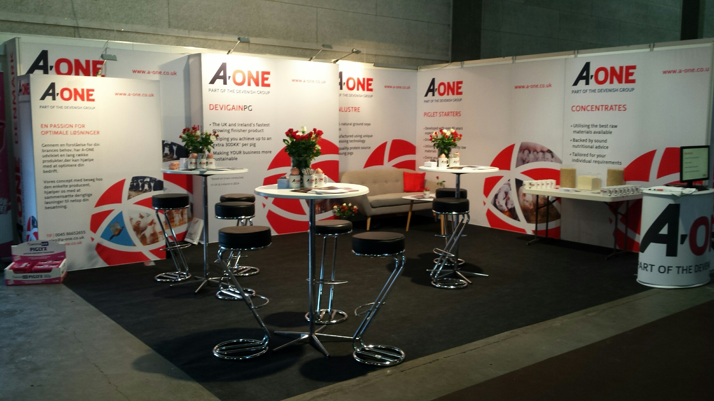 A-One at NutriFair 2016