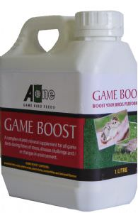 Game Boost 1 litre bottle (click for enlarged image)